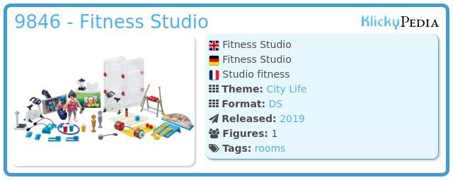 Playmobil 9846 - Fitness Studio