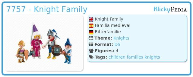 Playmobil 7757 - Knight Family