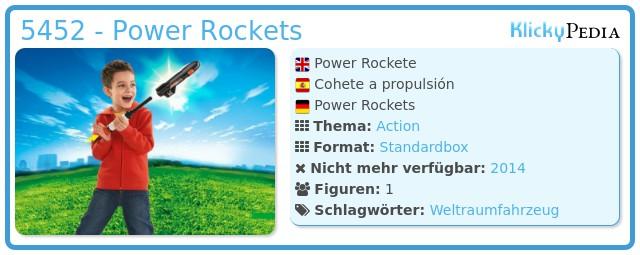 Playmobil 5452 - Power Rockets