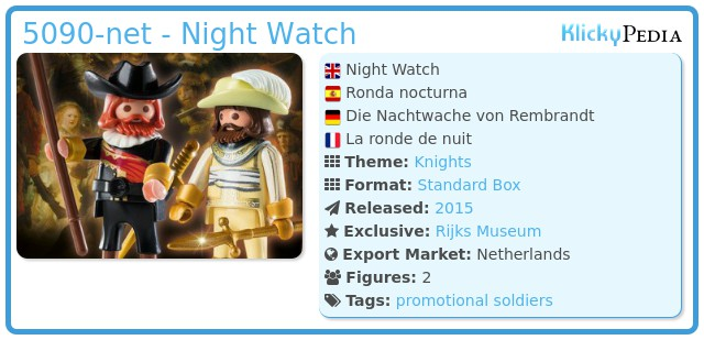 Playmobil 5090-net - Night Watch