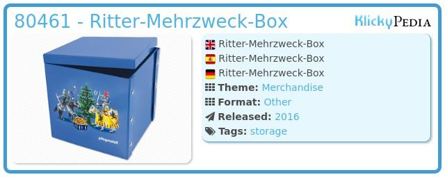 Playmobil 80461 - Ritter-Mehrzweck-Box