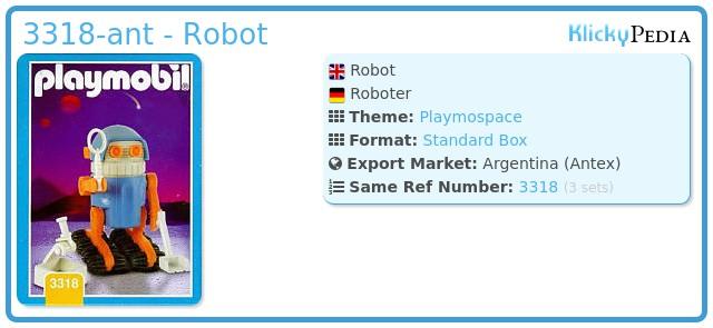 Playmobil 3318-ant - Robot