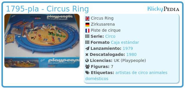 Playmobil 1795-pla - Circus Ring