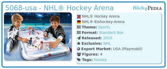 Playmobil 5068-usa - NHL® Arena