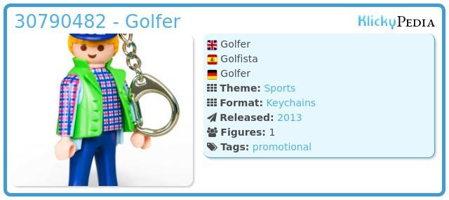 Playmobil 30790482 - Golfer