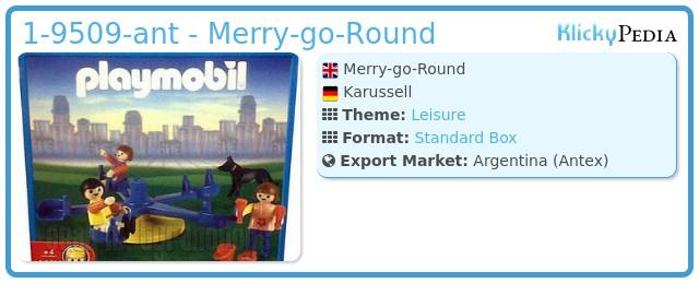 Playmobil 1-9509-ant - Merry-go-Round