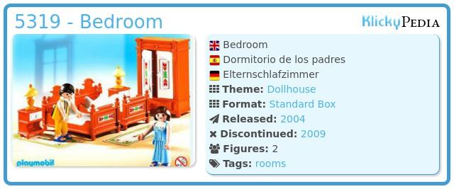 Playmobil 5319 - Bedroom