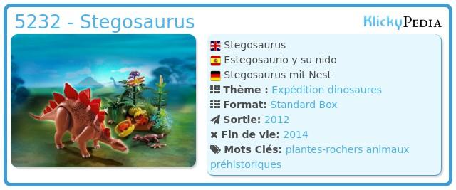 Playmobil 5232 - Stegosaurus