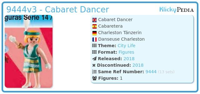 Playmobil 9444v3 - Cabaret Dancer