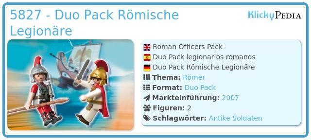 Playmobil 5827 - Duo Pack Römische Legionäre