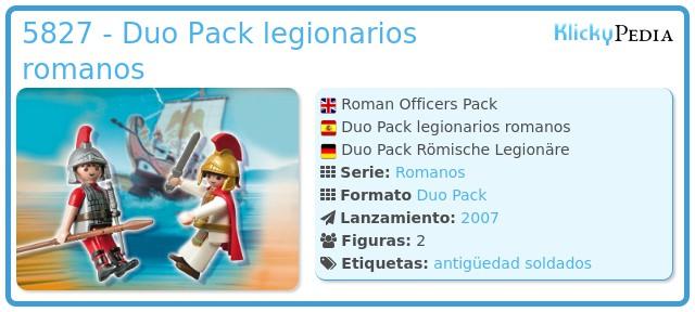 Playmobil 5827 - Duo Pack legionarios romanos