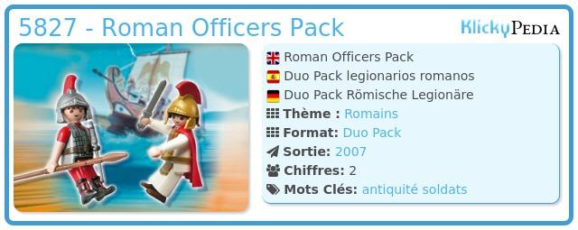 Playmobil 5827 - Roman Officers Pack