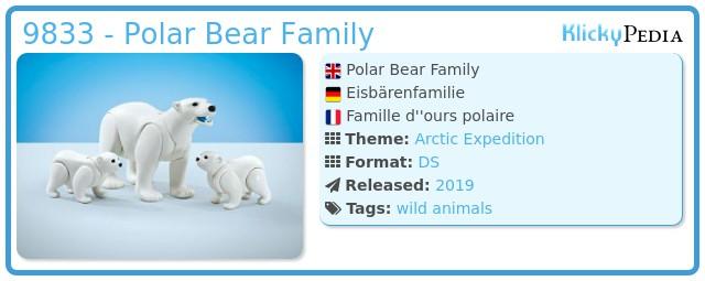 Playmobil 9833 - Polar Bear Family