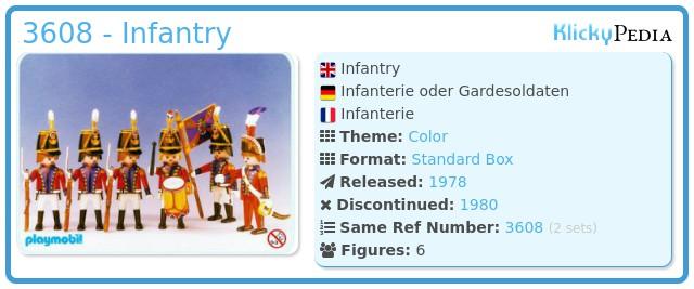 Playmobil 3608 - Infantry