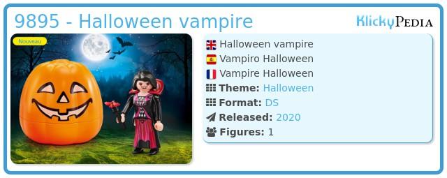 Playmobil 9895 - Halloween vampire