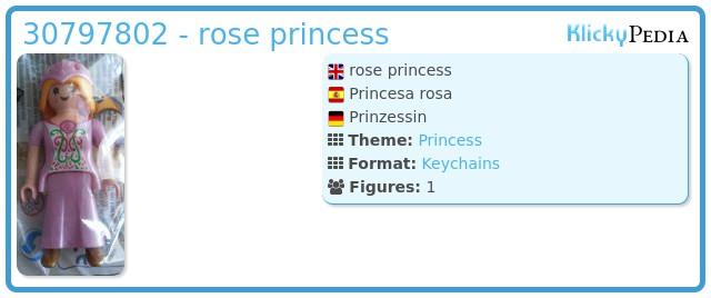 Playmobil 30797802 - rose princess