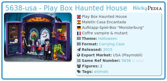 Playmobil 5638-usa - Play Box Haunted House