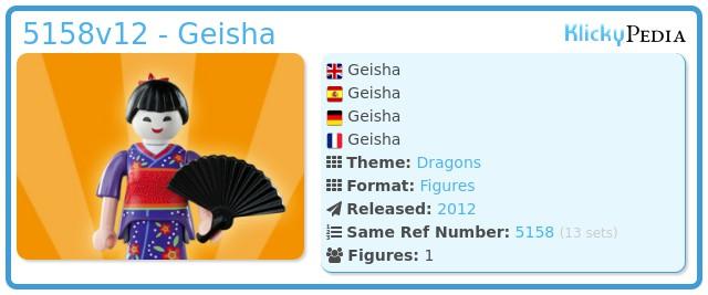 Playmobil 5158v12 - Geisha