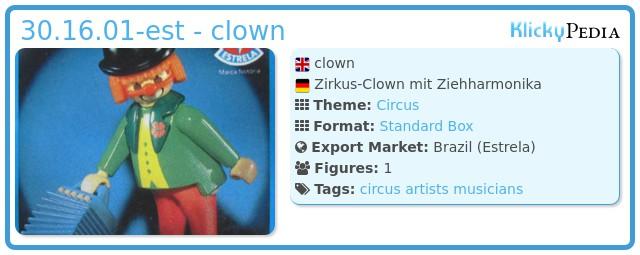 Playmobil 30.16.01-est - clown
