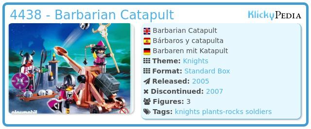 Playmobil 4438 - Barbarian Catapult