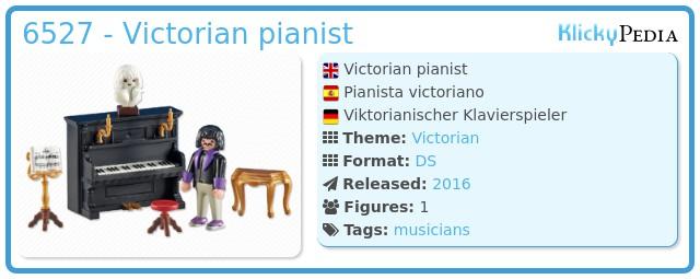 Playmobil 6527 - Victorian pianist