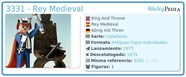 Playmobil 3331 - Rey Medieval