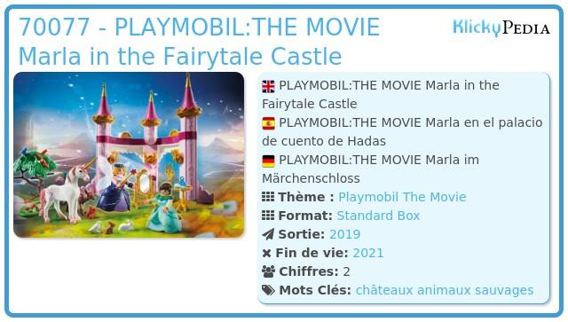 Playmobil 70077 - PLAYMOBIL:THE MOVIE Marla in the Fairytale Castle