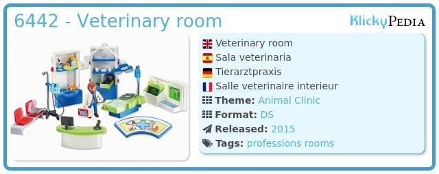 Playmobil 6442 - Veterinary room