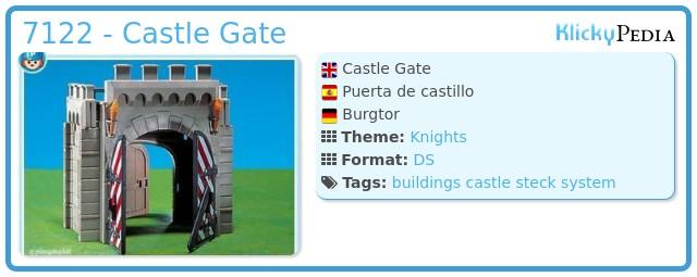 Playmobil 7122 - Castle Gate