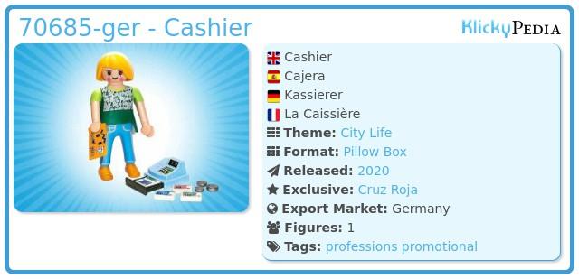 Playmobil 70685-ger - Cashier