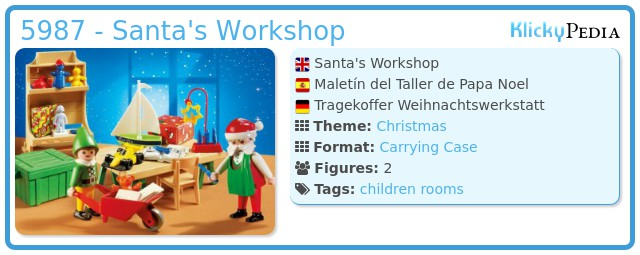 Playmobil 5987 - Santa's Workshop