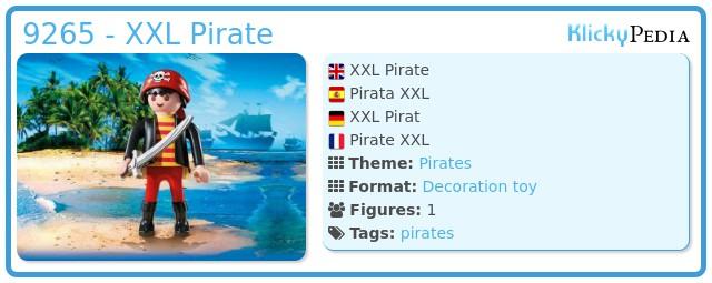 Playmobil 9265 - XXL Pirate
