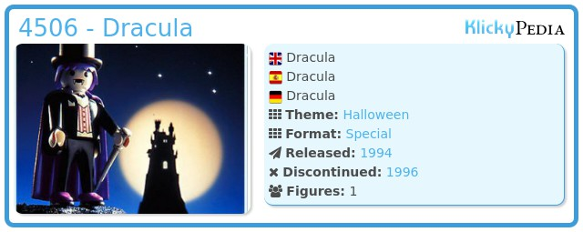 Playmobil 4506 - Dracula