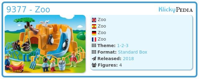Playmobil 9377 - Zoo