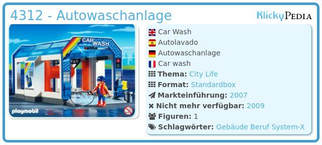 Playmobil 4312 - Autowaschanlage