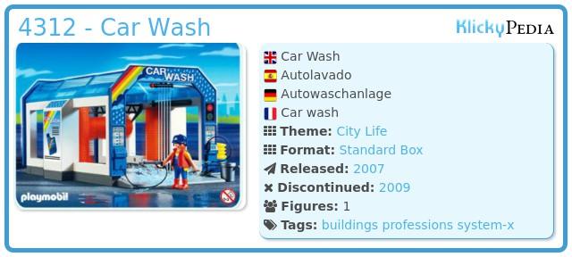 Playmobil 4312 - Car Wash
