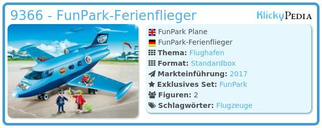 Playmobil 9366 - FunPark-Ferienflieger