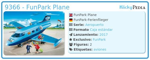Playmobil 9366 - FunPark Plane