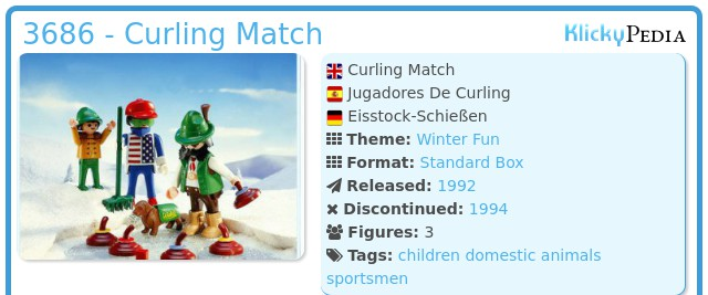 Playmobil 3686 - Curling Match