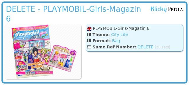 Playmobil 80537-ger - PLAYMOBIL-Girls-Magazin 6