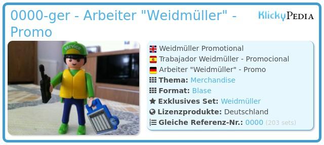 Playmobil 0000-ger - Arbeiter
