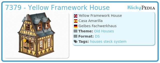 Playmobil 7379 - Yellow Framework House