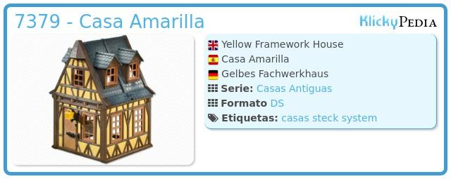 Playmobil 7379 - Casa Amarilla