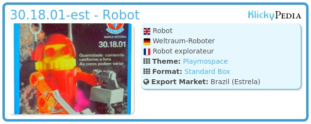 Playmobil 30.18.01-est - Robot