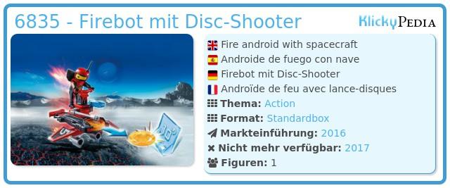 Playmobil 6835 - Firebot mit Disc-Shooter
