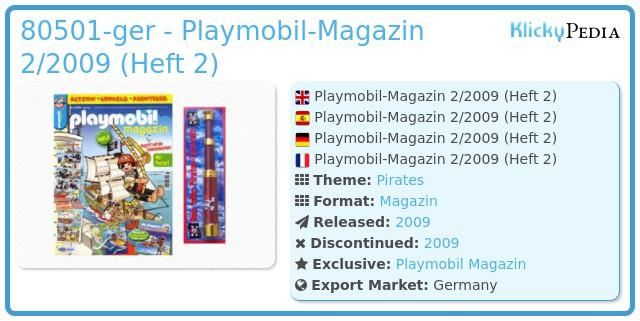 Playmobil 00000-ger - Playmobil Magazin 2/2009 (Heft 2)
