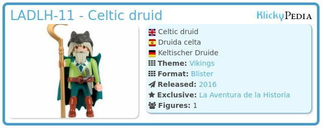 Playmobil LADLH-11 - Celtic druid