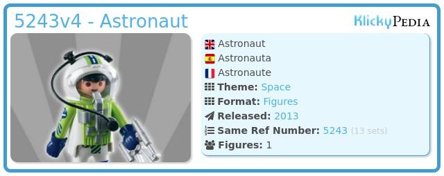 Playmobil 5243v4 - Astronaut