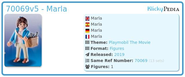 Playmobil 70069v5 - Marla