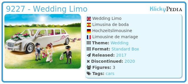 Playmobil 9227 - Wedding Limo